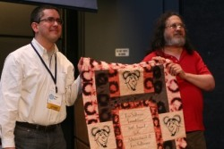 Richard Stallman and Dr. Fernando Perez