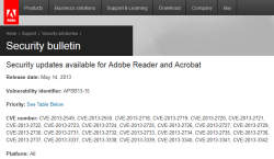 Adobe Reader and Acrobat updates