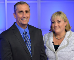 Brian Krzanich and Renee James