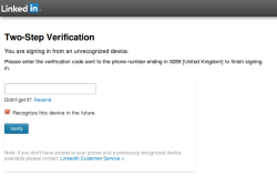 Signing in with two-factor authentication