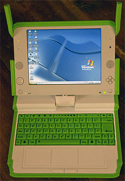 Windows XP on the XO laptop