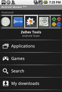 The Android Market Application