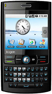 The Kogan Agora Pro at around £176 + duty & import is said to offer WLAN, GPS and Google's Android.