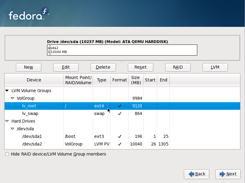Ext4 support in Fedora 11