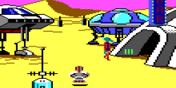 Space Quest 1 on Sarien.net