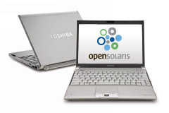 Sun OpenSolaris on notebooks