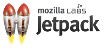 The Mozilla Jetpack Logo