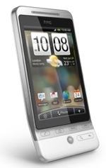 The HTC Hero Android powered phone with Flash support.