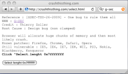 CrashThisThing screenshot