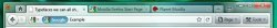 Tabs-on-Top concept replaces the titlebar.