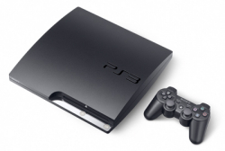 Sony PS3 slim games console