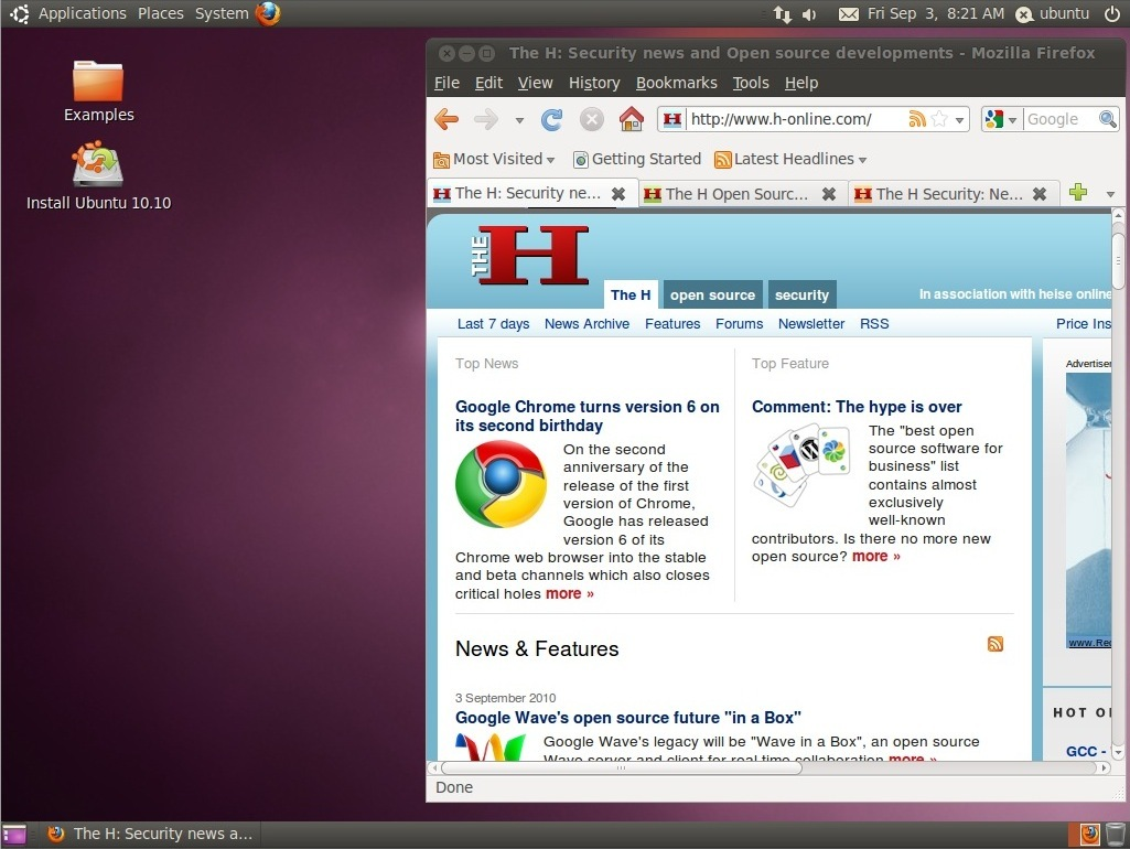 Canonical releases Ubuntu 10 10 Beta - The H Open: News and