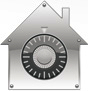 Apple House Lock Logo