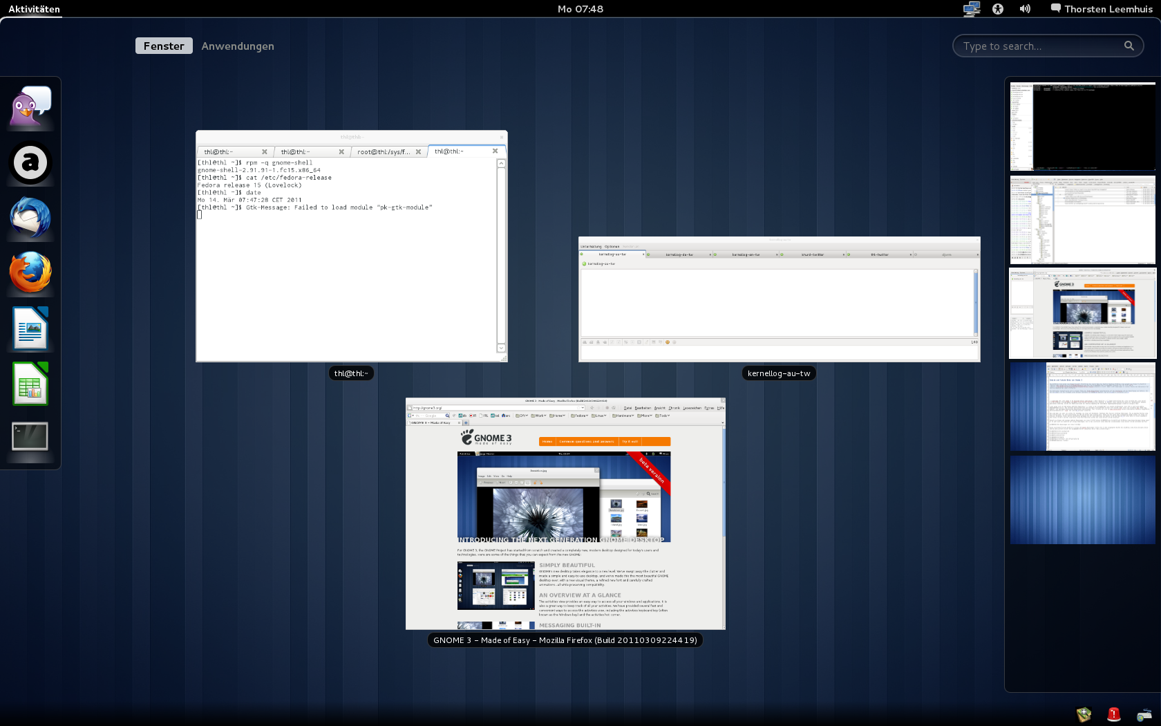 GNOME Shell screenshot