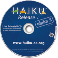 Haiku R1/Alpha3 CD