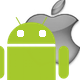 Android vs Apple icon