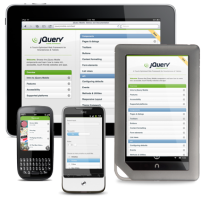 jQuery Mobile Devices
