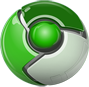 Chromium OS Lime logo