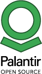 Palantir open source logo