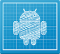 Android design logo