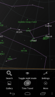 Sky Map for Android in action