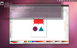 HUD and Inkscape Screenshot