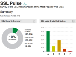 SSL Pulse Screenshot