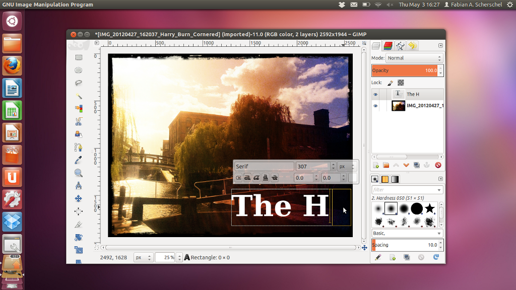 GIMP 2 8 arrives with single-window mode - The H Open: News
