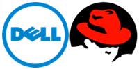 Dell and Red Hat logos