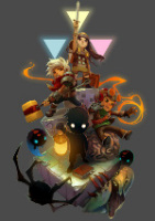 Humble Indie Bundle game characters