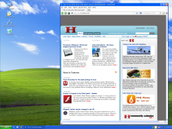 Screenshot of Tails 0.12 Windows Camoflague
