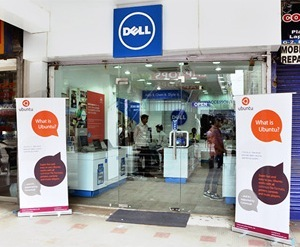 Dell Ubuntu retail front