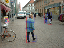 Pedestrian detection with ccv