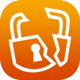 Broken encryption icon