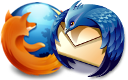 Firefox and Thunderbird logos