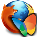 Firefox with MSN icon
