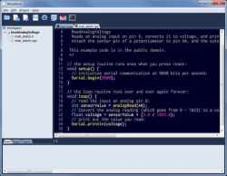 MariaMole: Alternative Arduino IDE - The H Open: News and Features