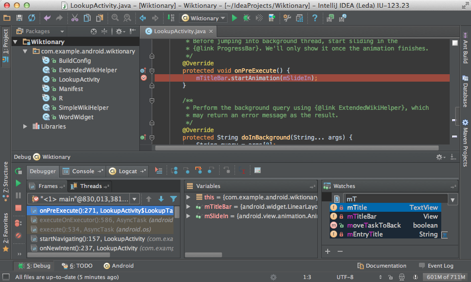 IntelliJ's Darcula