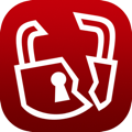 Broken lock icon