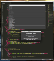 Sublime Text 3 screenshot