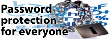 Password protection for everyone
