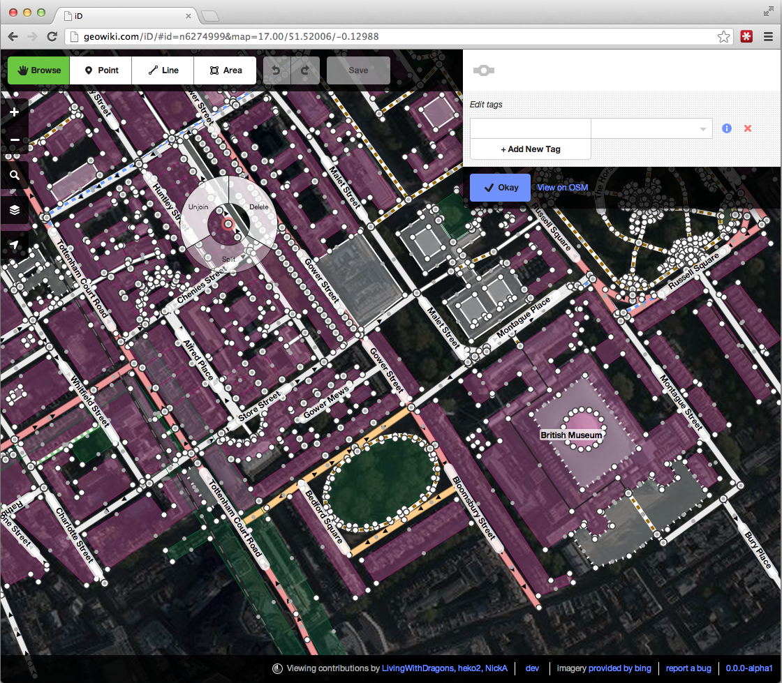 The new OpenStreetMap editor