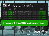 LibreOffice 4 banner