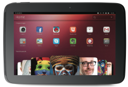 Home on the Ubuntu Tablet